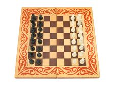 Free Chess Board Royalty Free Stock Photos - 2507668