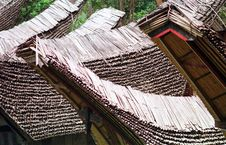 The Roof Of Toraja S House Royalty Free Stock Photography