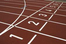 Free Cinder Track Stock Image - 2509151