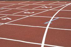 Free Cinder Track Stock Photo - 2509170