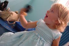 Free Happy Baby Girl In Hospital Stock Photos - 2509483