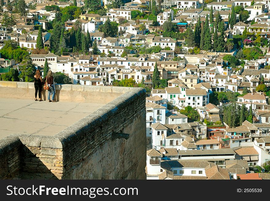Roofs Of Old City Of Granada - Free Stock Images & Photos - 2505539