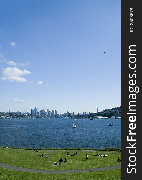 Lake Union from Gas Works