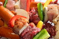 Free Delicious Uncooked Barbecue Royalty Free Stock Photography - 25000187