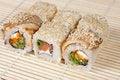 Free Japanese Sushi Rolls Royalty Free Stock Photos - 25002558