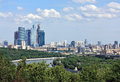 Free Moscow River And Area Of Royalty Free Stock Photo - 25003805