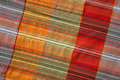 Free Multicoloured Fabric With Geometric Pattern Royalty Free Stock Photo - 25007065
