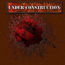 Free Under Construction. Stock Images - 25000254