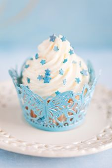 Free Cupcake Royalty Free Stock Photography - 25002587