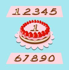 Free Birthday Cake Stock Image - 25008381