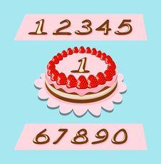Free Birthday Cake Stock Image - 25008381