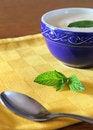 Free Yogurt And Mint Stock Images - 25011094