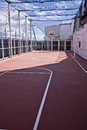 Free Basketball Court Onboard A Ship Royalty Free Stock Photo - 25018855