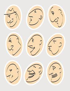 Free Emotions Royalty Free Stock Image - 25013266