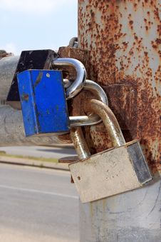 Free Locks On The Gates Stock Photo - 25014970