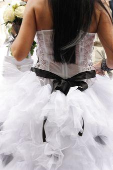 Free Wedding Dress Stock Image - 25016171