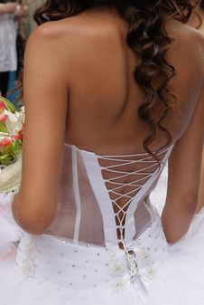 Free Lace Up Corset Royalty Free Stock Photography - 25016187