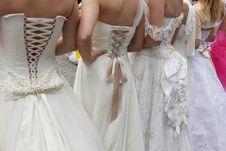 Free Wedding Dress Stock Image - 25016231