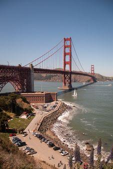 Free Golden Gate Bridge Stock Photography - 25019012