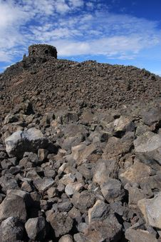 Free Dee Wright Observatory Oregon Royalty Free Stock Photos - 25019668