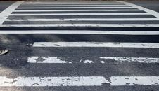 Free Pedestrian Crossing Stock Photography - 25019952