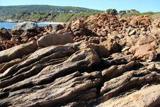 Free Rocky Coast At Yallingup Royalty Free Stock Photo - 25021495