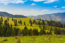 Free Landscape With Mountains In The Summer Royalty Free Stock Photo - 25026715