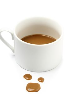 Free Coffee Stain Stock Image - 25029541