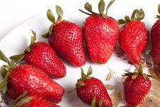 Free Strawberries Stock Photography - 25029732