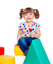 Free Little Girl Holding Candy Stock Images - 25037074