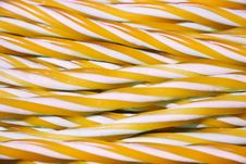 Free Sweet Candy Cane Background Royalty Free Stock Images - 25031499