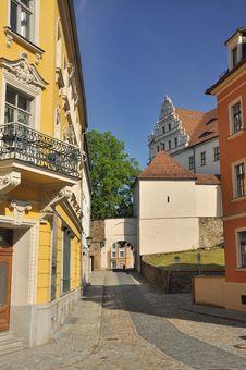 Free Bautzen, Saxony, Germany - Burg Alley Royalty Free Stock Photo - 25032475