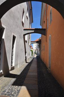 Free Görlitz, Saxony, Germany. City Alley Stock Image - 25032701