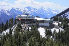 Free Sulphur Mountain. Royalty Free Stock Images - 25033559