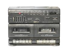 Free Retro Radio Cassette Tape Royalty Free Stock Images - 25034549