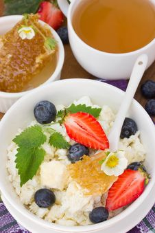 Free Dietary Breakfast Stock Photography - 25035762
