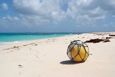 Free Tropical Beach With Buoy Stock Photo - 25036980