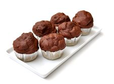 Free Chocolate Muffins Stock Photos - 25038283