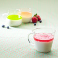 Free Cups Of Yoghurt Royalty Free Stock Images - 25042339