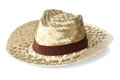 Free Straw Hat Royalty Free Stock Photos - 25042668