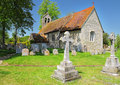 Free An English Village Church And Bell Tower Royalty Free Stock Photography - 25045127