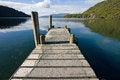 Free Lake Tarawera Pier Royalty Free Stock Photography - 25046097