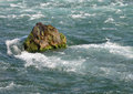 Free Rock In The Rapids Stock Images - 25047784