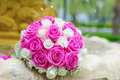 Free Flowers Roses Wedding Bouquet In Fountain Sprays Water Droplets Stock Photo - 25049700