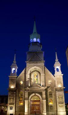 Free Notre-Dame-de-Bon-Secours Chapel Royalty Free Stock Images - 25041159