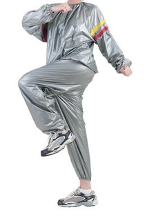 Free Woman In Sauna Suit Stock Photography - 25042412