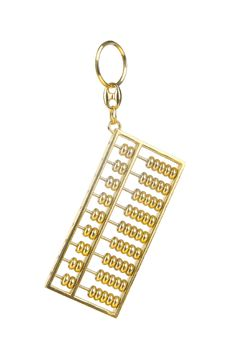 Free Abacus Key Chain Stock Images - 25043014
