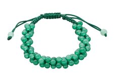 Free Green Gemstone Beads Bracelet Stock Image - 25044281