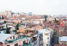 Panoramic View. Tbilisi. Georgia. Stock Images