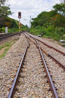 Free Traffic Light Train Royalty Free Stock Photo - 25045125